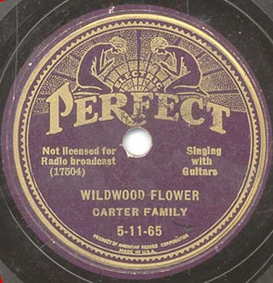 "Perfect Records ""Wildwood Flower"""